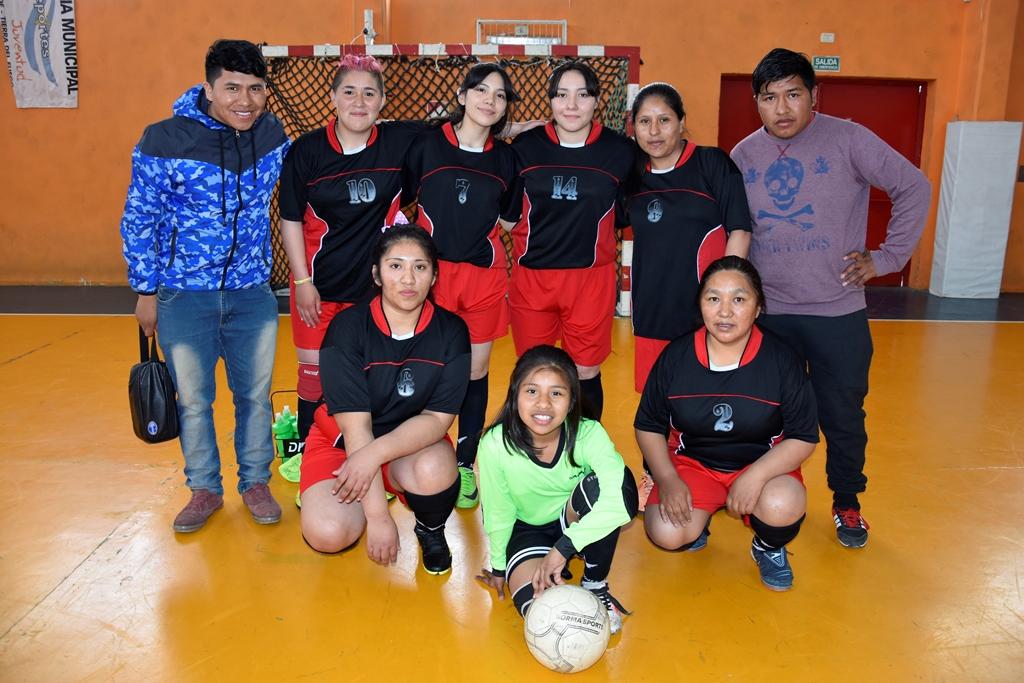 El equipo de Deportivo Libertad, categoría primera división.